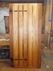 Iroko external door
