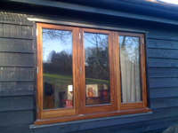 Iroko Casement Window