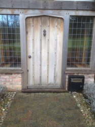 Double Boarded Door