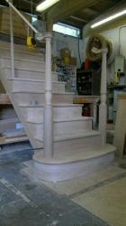 Cut String Oak Stairs