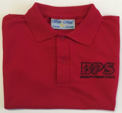 Polo Shirt- Red