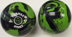 TORNADO MARBLE- BLACK/ GREEN