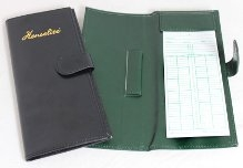 HENSELITE SCORE CARD HOLDER-LEATHER