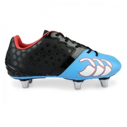 CANTERBURY PHOENIX CLUB JNR- BLACK/DRESDEN BLUE