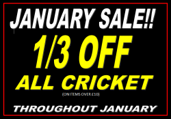 1/3 OFF ALL CRICKET!!!