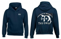 THE OWLS JUNIOR HOODY