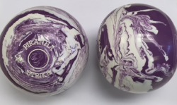 TORNADO MARBLE- WHITE/ PURPLE