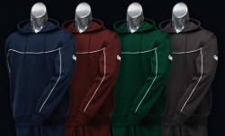 GM HOODED TOP