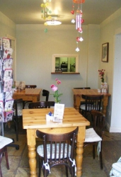 Stunning tea room in Little Town Farm Shop