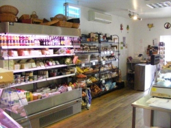 Inside of Little Town Farm Shop