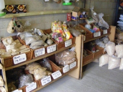 Animal Feed section at Little Town Farm Shop