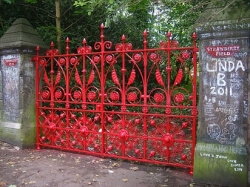 We replaced the original gates at the shrine to john Lennon with these magnificent replicas. We can export these to anywhere in the world.