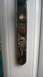 This is a euro cylinder lock or upvc cylinder lock, mostly found on upvc type doors.