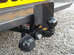 Fixed Flange Towbar, with Bumper Protector Plate