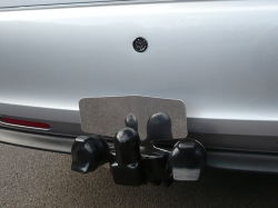 Fixed Flange Towbar with Reversing Camera in Bumper