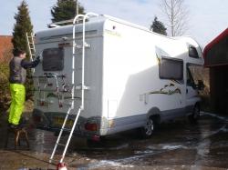Camper Exterior - Wash & Hot Wax