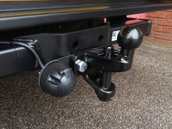 Commercial Towbar with Ball & Pin Assembly