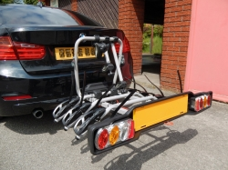 Cycle Carrier Fitted to our Customers Vehicle - Off for the weekend !