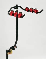 Traditional 'Flange Mounted' Cycle Carrier - Cranked version, for vehicles with rear mounted spare wheel