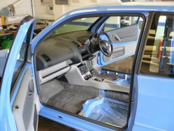 Extensive Cleaning - Complete Interior Removal