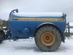 Conor 2500R tanker