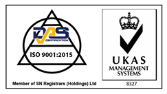 ISO:9001:2015 accreditation