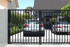 Wrought Iron metal Gates