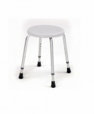 Compact Aluminum Shower Stool