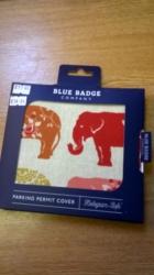 Blue Bage Holder Elephants