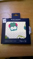 Blue Bage Holder Owls