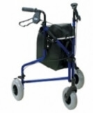 Homecraft Aluminium Tri Wheel Walker