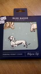 Blue Bage Holder Dogs