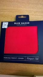 Blue Bage Holder Plain