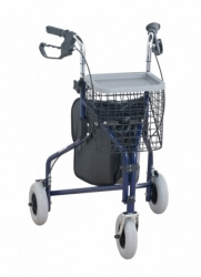 NRS Tri Walker with Bag and Basket