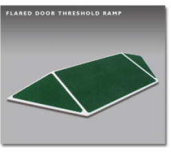 Flared Door Threshold Ramp