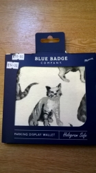 Blue Bage Holder Cats