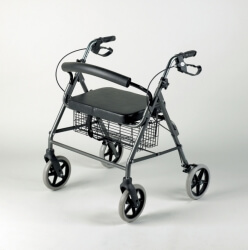 252 Four Wheeled Rollator