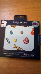 Blue Bage Holder Sweets
