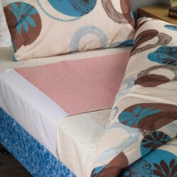 Quickdry Bedpad 3LTS Pink