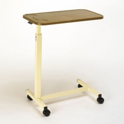 Days Height Adjustable Overbed Table with Plastic Top