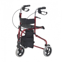 Drive Tri-Walker with seat