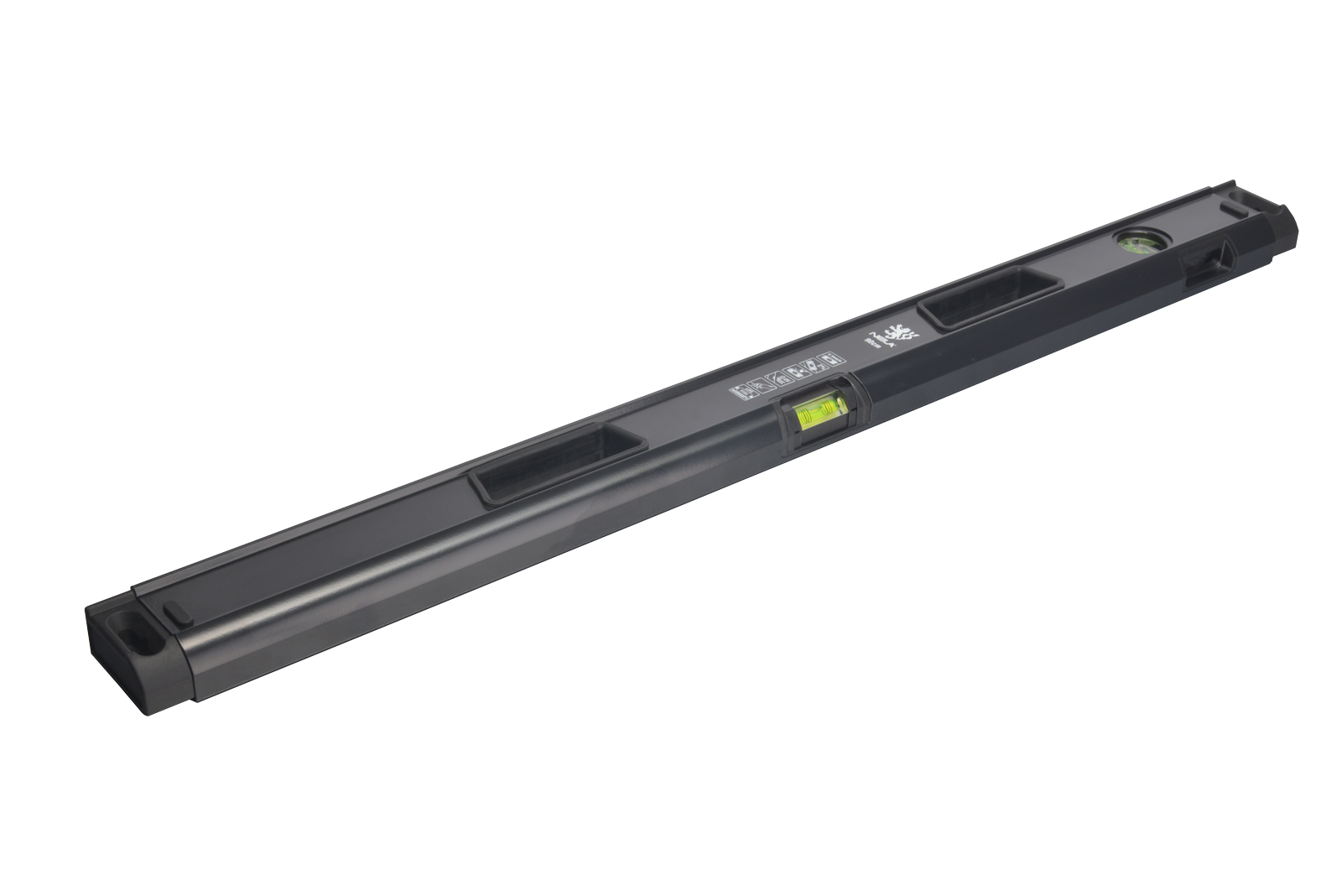 NELA Black Edition Spirit Level - 90cm