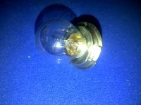 15 Watt Bulb with Large Skirt Single Pole