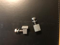 Pair of used TGA Motor / Base Plate Brackets