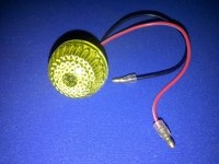 Shoprider indicator lens Assy. with 5 watt Bulb