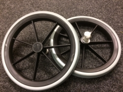 Pair of Rear Solid 12.5