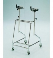 ARTHRITIC WALKING FRAME ON WHEELS
