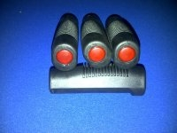 PAIR OF HANDGRIPS WITH REFLECTORS NITHH 778