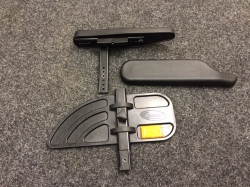 Mirage Armrest Assy. with New style armpad