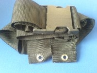 STANDARD ON PIECE WHEELCHAIR SEAT BELT